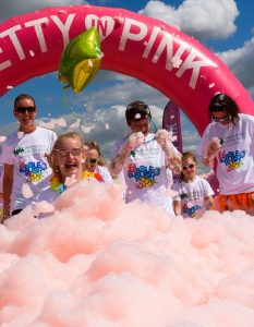 A photo showing how there will be plenty of colourful and fun foam-filled scenes like this when Bubble Rush comes to Exeter in June. Picture: Bubble Rush