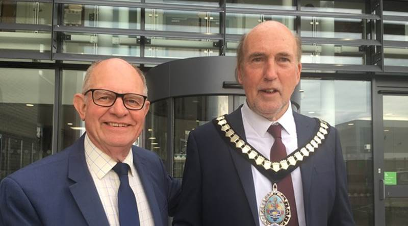 A photo of Conservative Sidmouth and Sidford representative Stuart Hughes has taken over as EDDC chairman from Andrew Moulding. Picture: EDDC