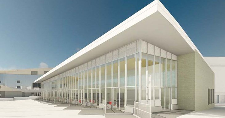 An artist's impression of the new Exeter Bus Station. Picture from Exeter City Council.