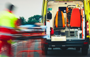Devon and Cornwall Police said a 19-year-old Exmouth man suffering serious injuries was taken by ambulance to the Royal Devon and Exeter Hospital.