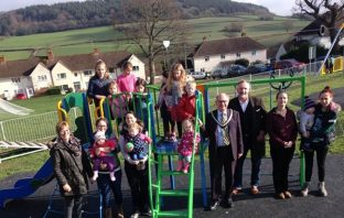 Furzehill park was given a £45,000 facelift