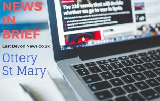 Ottery St Mary news in brief