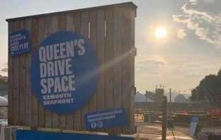 Queen's Drive space, Exmouth