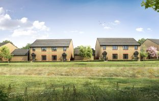 New homes at Pinhoe, Exeter