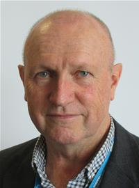 A photo of Councillor Geoff Pook, portfolio holder for asset management at EDDC