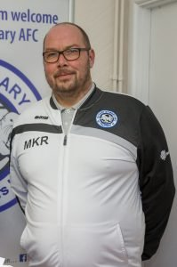 Ottery St Mary Football Club chairman Mike Ringer