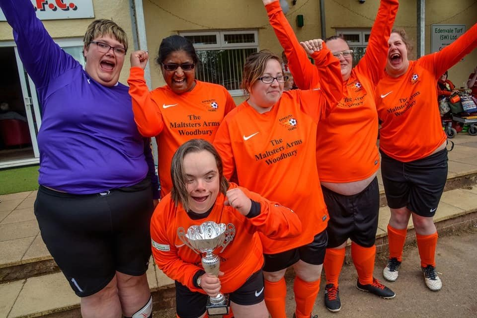 Exmouth Tigers Disability Football Club is going from strength to strength.