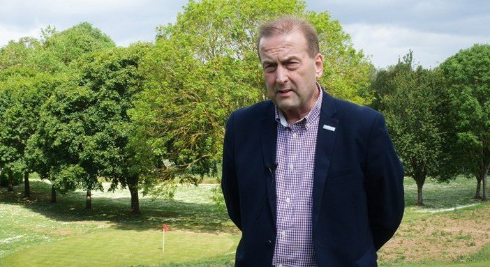A photo of Exeter City Council leader Phil Bialyk at the Northbrook Approach Golf Course. Picture: Exeter City Council