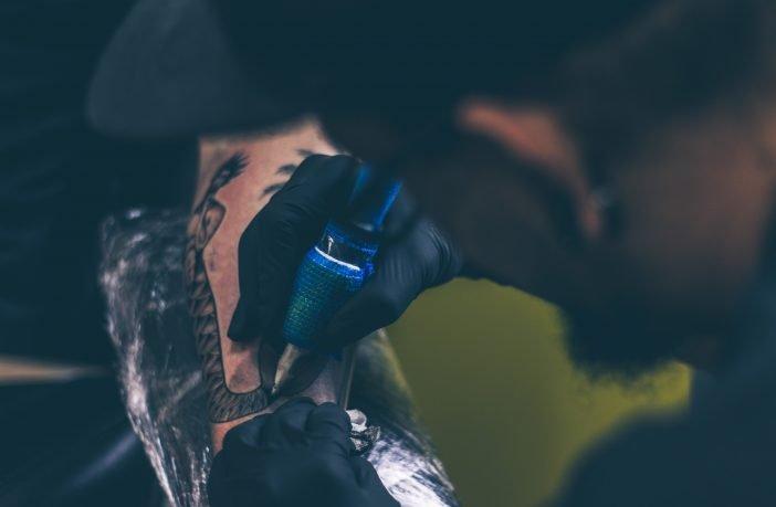 Exmouth tattoo parlour