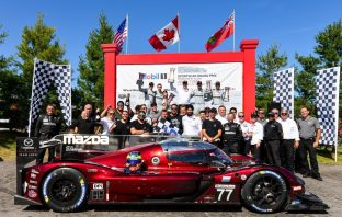 Harry Tincknell finished second at the latest round of the IMSA WeatherTech Sportscar Championship. Mazda Team Joest scored its second-straight one-two finish.