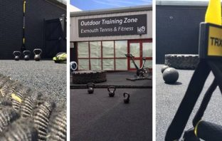 The new Exmouth outdoor training zone. Photos: LED