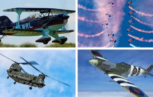 Sidmouth Air Display 2019: some of the performers