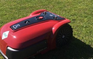 Robot lawnmowers are being trialled by East Devon District Council in Exmouth and Honiton