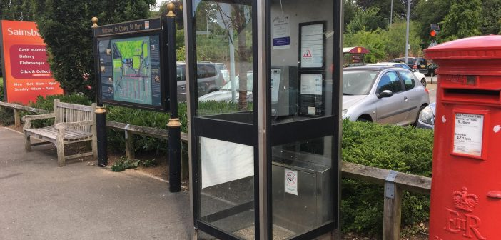 End of the line for Ottery phone box?