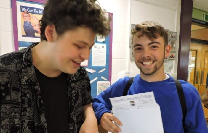 Exmouth A-levels 2019
