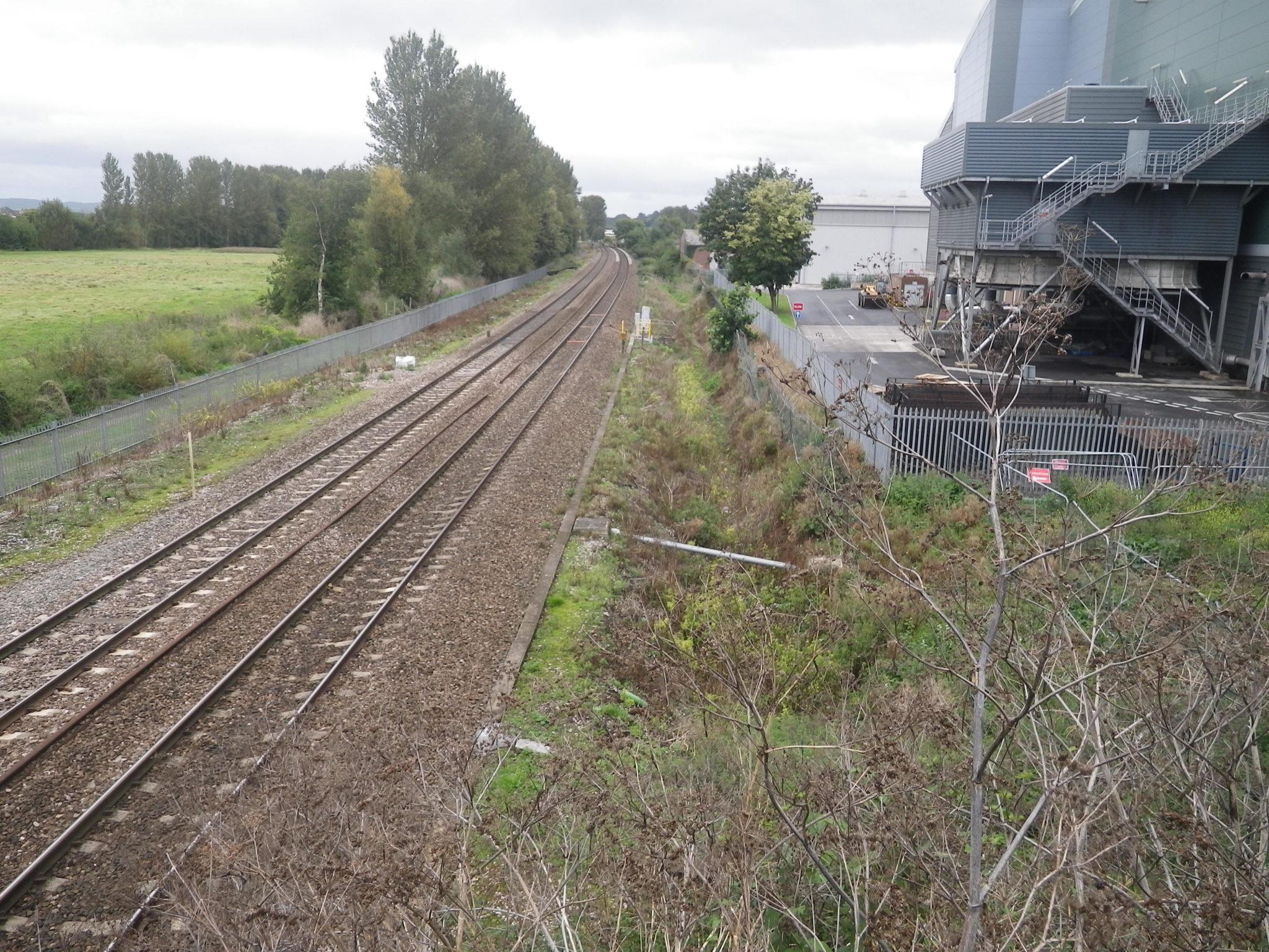 Marsh Barton railway station Exeter