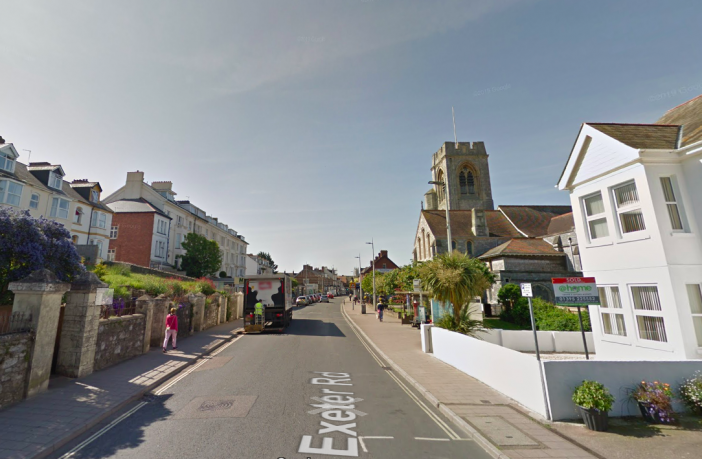 A new Exmouth care home is proposed for 63 Exeter Road in Exmouth Town centre