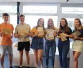 Sidmouth College celebrates 100 per cent pass rate A-level success