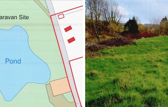 Plans were for a pari of 'leisure arks' on a plot at Marles Farm in Awliscombe. These images were featured in the proposals. Honiton