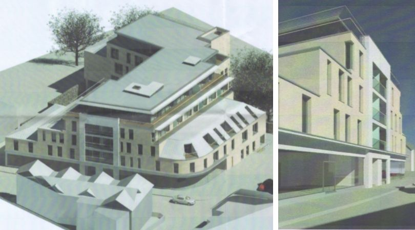 These designs by ARA Architecture are featured in plans submitted by Stagg Inns Ltd to the district council. St Andrews Road Exmouth