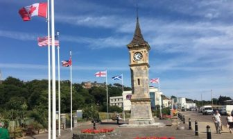 Exmouth Jubilee clock tower