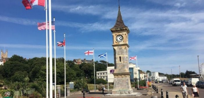 Exmouth's 'struggle' to repair seafront Jubilee clock tower comes to an end