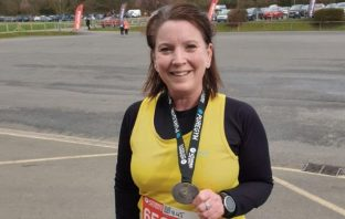 Lucy Hancock, pictured, has set herself a year of challenges., raising funds for Exmouth and Lympstone Hospiscare.