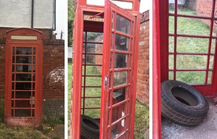 BT phone box Exmouth
