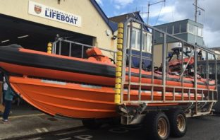 Stock photo - Sidmouth Lifeboat