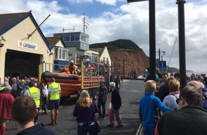 new Sidmouth lifeboat