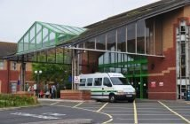 The Royal Devon and Exeter Hospital Devon NHS in Devon
