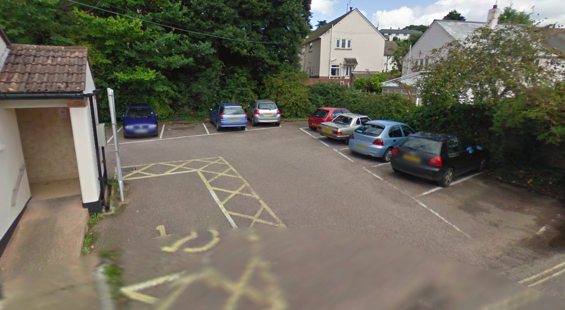The Brook Road car park in Budleigh Salterton. Picture: Google Maps.