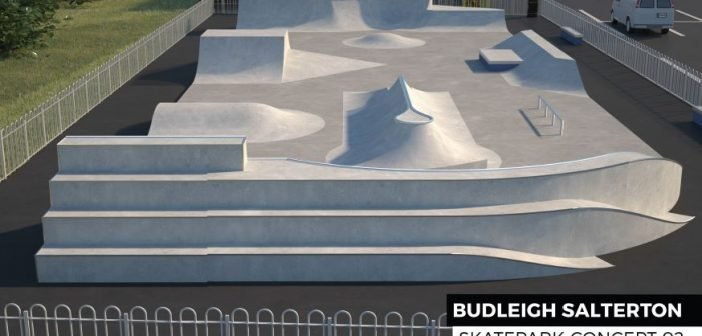 Special event to mark opening of £150,000 Budleigh Salterton skate park
