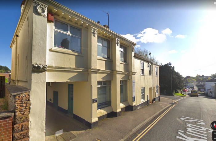 Pegasus House in King Street Honiton