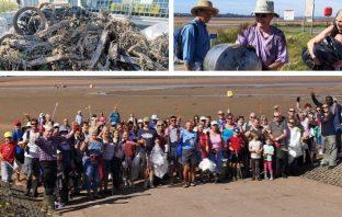 Exe Estuary clean-up