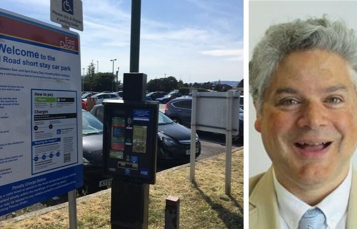 East Devon car parks Imperial Road Exmouth East Devon Conservatives Cllr Bruce de Saram
