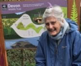 Lympstone's Mary marks her 91 years in miles walking all 50 Devon Wildlife Trust's nature reserves