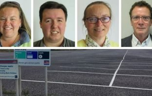 Liberal Democrats (l-r) Councillors Sarah Chamberlain, Luke Jeffery, Eleanor Rylance, and Fabian King have questioned a proposed price hike for East Devon car parks.
