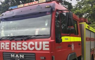 fire Exeter East Devon Hawkchurch Axminster Ottery