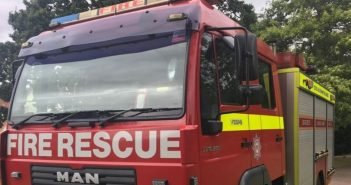 Exeter firefighters find smoke-logged flat and burnt food left cooking on hob