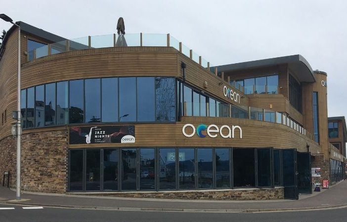 The Ocean Blue leisure complex on the Esplanade in Exmouth.