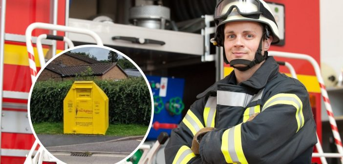 Unwanted clothes help Ottery firefighters support charity that is close to their hearts