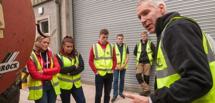 Bicton College farm safety lessons for agriculture students will save lives