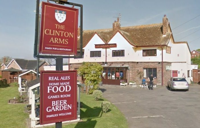 The Clinton Arms in Exmouth. Picture: Google Maps.