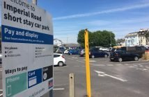 The Imperial Road short-stay car park is one of three in Exmouth facing a 20 per cent price hike.