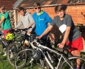 Sidmouth College students' pedal power will build classrooms in Kenya