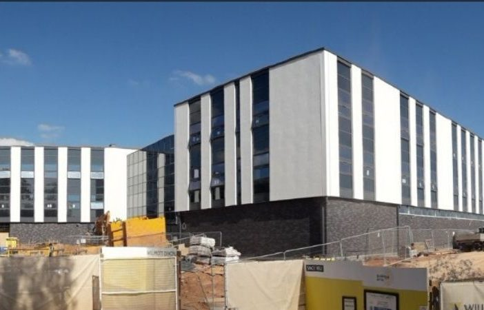 The new police HQ at Middlemoor in Exeter. Picture: Mat Helm