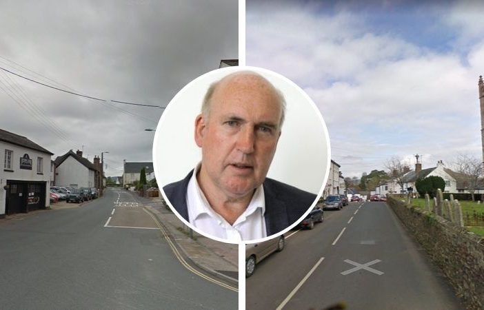 Councillor Stuart Hughes is calling for HGVs over 7.5 tonnes to be based from the A375 between Sidford and Sidbury. Street images courtesy of Google Maps