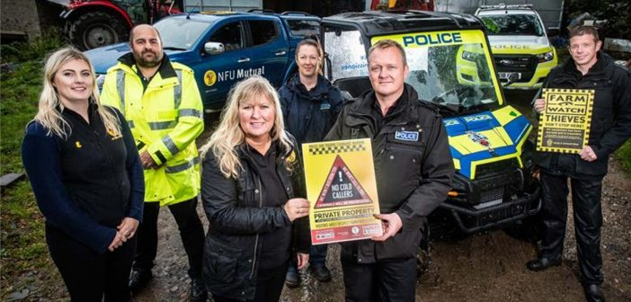 'No Cold Callers' campaign launched to stop crooks from targeting farms