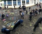Exmouth Community College students 'chalk about mental health'